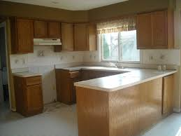 Paint Oak Kitchen Cabinets Oak Kitchen Cabinets Before And After How To Stain Oak Cabinetry