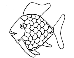 Small Picture Rainbow Fish Coloring Page Book Coloring Rainbow Fish Coloring