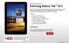 samsung 10 1 tablet. verizon announces an lte enabled samsung galaxy tab 10.1, pre-orders begin next week 10 1 tablet