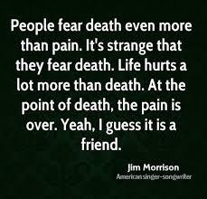 Famous Quotes About Death Beauteous Top 48 Famous Jim Morrison Quotes