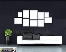 white 10 piece multi picture frame