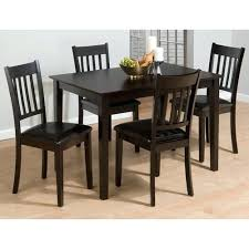 4 chair dining table miraculous set of 4 dining chairs at great room chair table on