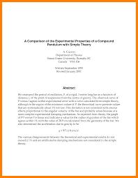 Simple Reportsimple Report Format Example Formal Report Format