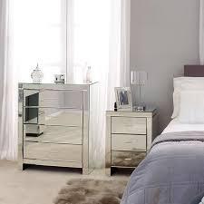 Bedroom Furniture Collection Venetian Mirrored Bedroom Furniture Collection Dunelm Home