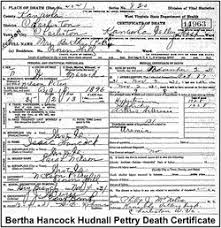 Bertha Hancock Pettry (1896-1931) - Find A Grave Memorial