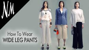 Stylish white pants ideas for ladies Waist Chic How To Wear Wide Leg Palazzo Pants Outfit Ideas From Neiman Marcus Youtube Youtube How To Wear Wide Leg Palazzo Pants Outfit Ideas From Neiman Marcus