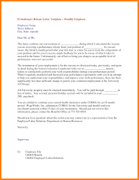 Annual Vacation Letter Sample Primary Representation Leave Format