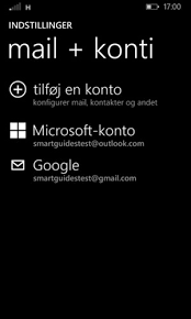 eksporter kontakter fra windows phone