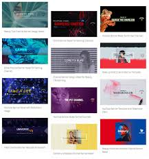 Channel Art Template Make Channel Art With A Youtube Banner Maker Placeit