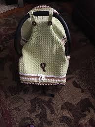 Crochet Car Seat Cover Pattern Free