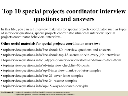 Project Coordinator Interview Questions And Answers - Kleo.beachfix.co