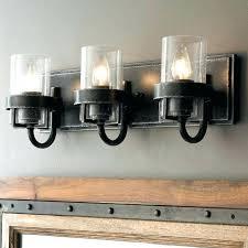 black bathroom lighting fixtures. Farmhouse Bathroom Lighting Light Fixtures  Industrial Chic Rustic Bath . Black Y