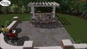 Eldorado Outdoor Kitchen Saddle River Nj Outdoor Kitchen Bar Design Youtube