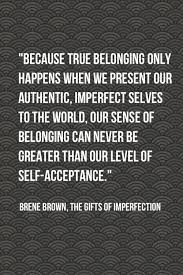 Self Acceptance Quotes Unique Let It Go Self Acceptance Of The Magic Within Soul Cafe