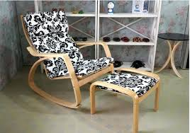 rocking chair and stool glider white recliner
