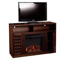 southern enterprises akita media electric fireplace in espresso