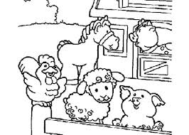 Farm Animal Coloring Sheets For Preschool Animal Coloring Pages