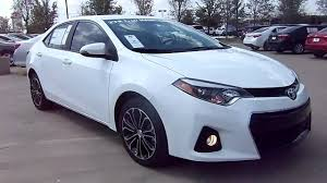 2014 Toyota Corolla S Plus Start Up, Exterior/ Interior Review ...