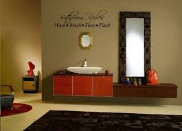 easy bathroom wall art and decor