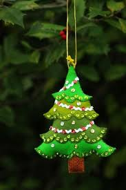 25 Adorable Felt Original Ornaments For Your Christmas Tree