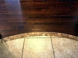 hardwood floor to tile transition tile hardwood floor to tile transition