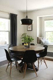 f dark wood frame painting square dark wood dining table white kitchen cabinet dark grey floor vintage rust style hanging light 838 x 1263