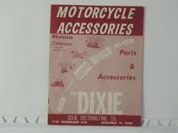 1964 dixie motorcycle parts catalog superior wisco lodge brochure