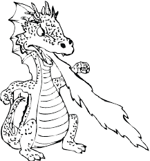Dungeons And Dragons Coloring Pages Printable Free Cute Dragon