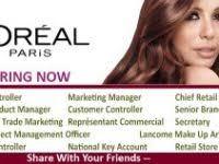 l oreal makeup artist jobs lovely l oreal paris latest jobs apply now career
