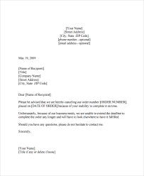 15 Sample Order Letters Pdf Word Pages Sample Templates