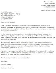 Litigation Attorney Cover Letter Legal Cover Letter Examples Cover