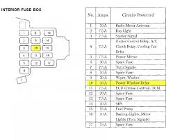 acura mdx fuse box diagram acura wiring diagrams
