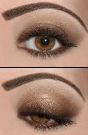 silver smokey gray makeup for brown eyes