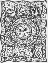 Small Picture Get This Free Trippy Coloring Pages to Print for Adults YS9A5