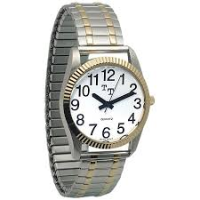 low vision watches easy to watches talking watches mens low vision watch expansion band