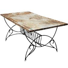 art deco outdoor furniture. art deco metal outdoor patio dining table 1 furniture e