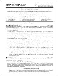 Customer Relationship Officer Sample Resume