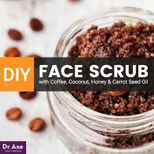 diy face scrub dr axe