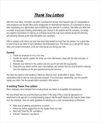 Business Thankyou Letter Format