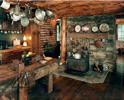 rustic cabin kitchens. Rustic Cottage Kitchen Of The Picture Gallery Cabin Kitchens A