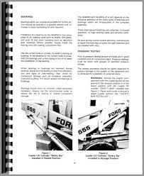 similiar ford backhoe parts list keywords ford 555 tractor loader backhoe service manual htfo s550555