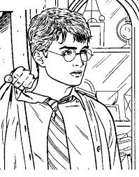 Harry Potter Da Colorare Disegni Gratis