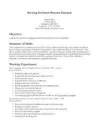 Resume Draft Mesmerizing Resume Certified Nursing Assistant Nursing Assistant Resume Sample