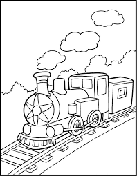 Train coloring pages should be in printable format so that toddlers and preschoolers can download them easily for free. Free Printable Train Coloring Pages For Kids