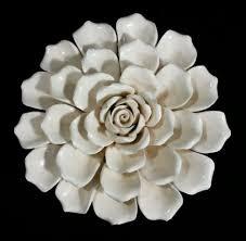 porcelain wall flowers most beautiful flower wallpapers world pc porcelain flowers wall decor  on 3d white flower wall art with porcelain wall flowers imax 83302 marita porcelain wall flower white