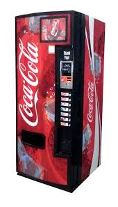 How Much Can A Vending Machine Make A Month Gorgeous Dixie Narco Model 48E 48 Oz Can Vending Machine Coca Cola Deco
