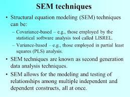 2 sem techniques structural