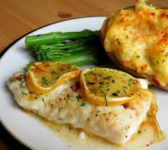 Lemon & Garlic Butter Baked Cod