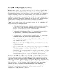 A College Essay Examples 10 Example Of A College Essay Artistfiles Revealed