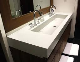 trough sink vanity picture of trough sinks for efficient bathroom and kitchen ideas trough bathroom sink trough sink